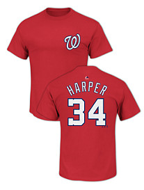 Majestic® MLB Name and Number Tee