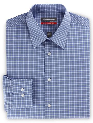 Geoffrey Beene® Medium Grid Dress Shirt ( Mix & Match Geoffrey Beene, Gold Series & Synrgy Dress Shirts )