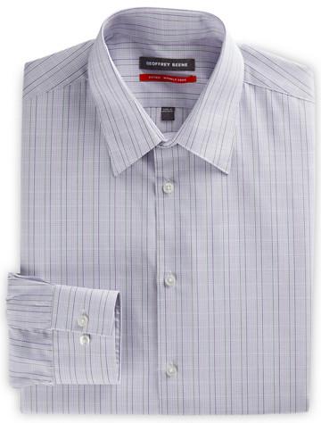 Geoffrey Beene® Micro Grid Dress Shirt ( Mix & Match Geoffrey Beene, Gold Series & Synrgy Dress Shirts )