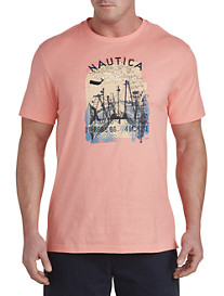Nautica® Two Ships Graphic Tee