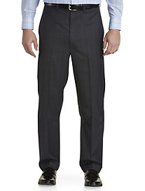 Geoffrey Beene® Plaid Deco Flat-Front Suit Pants