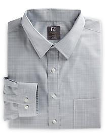 Gold Series Grid-Patterned Dress Shirt