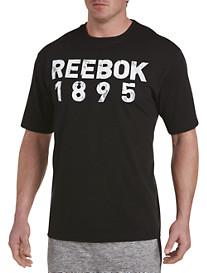 Reebok Distressed Black Tee