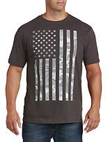 USA Camo Flag Graphic Tee