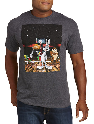 Basketball In Space Graphic Tee
