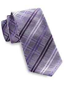 Geoffrey Beene Heather Grid Tie