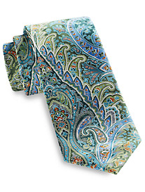 Geoffrey Beene® Festive Chic Paisley Silk Tie
