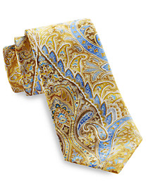Geoffrey Beene Festive Chic Paisley Silk Tie
