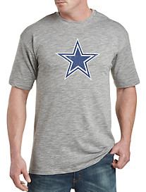 NFL 2017 Dallas Cowboys Heathered Slub-Knit Tee