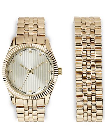 Synrgy™ Goldtone Bracelet Watch