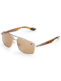 True Nation® Metal Aviator Sunglasses