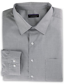 Synrgy Performance Stretch Collar Micro-Check Dress Shirt