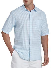 Harbor Bay® Seersucker Check Sport Shirt