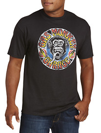 Gas Monkey Grateful Garage Graphic Tee