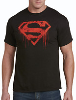 Superman Spray Logo Graphic Tee