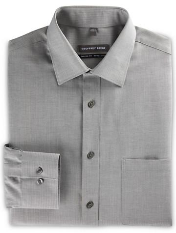 Geoffrey Beene® Tonal Herringbone Stripe Dress Shirt ( Mix & Match Geoffrey Beene, Gold Series & Synrgy Dress Shirts )