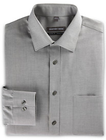Geoffrey Beene® Tonal Herringbone Stripe Dress Shirt