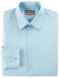 Geoffrey Beene® Mini Grid Dress Shirt