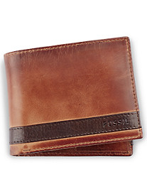 Fossil® Quinn Leather Pass Case