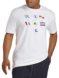 Nautica® Sailing Flags Tee