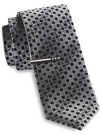 Gold Series Medium Circle Medallion Tie