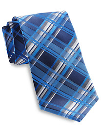 Geoffrey Beene® Tasteful Plaid Silk Tie