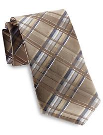 Geoffrey Beene® Tasteful Plaid Silk Tie