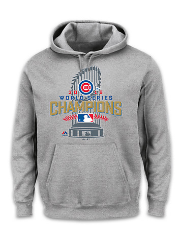 Majestic® MLB 2016 Chicago Cubs Championship Hoodie - $80.00