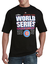 Majestic® MLB 2016 Chicago Cubs Championship Record Holder Tee