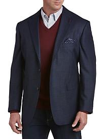 Oak Hill® Jacket-Relaxer™ Windowpane Sport Coat