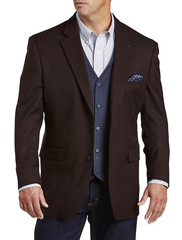 Oak Hill® Zip-In Vest Jacket-Relaxer™ Sport Coat
