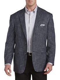 Oak Hill® Textured Jacket-Relaxer™ Sport Coat -- Executive Cut