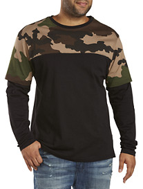 MVP Collections Camo Layer Tee