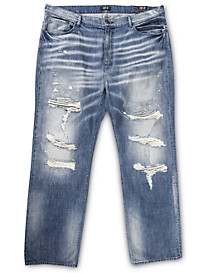 MVP Collections Slider Relaxed-Fit Dark Indigo Jeans