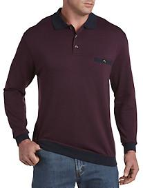 Harbor Bay® Basketweave Banded-Bottom Shirt
