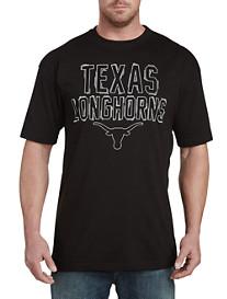 Collegiate Texas Black Pop Tee