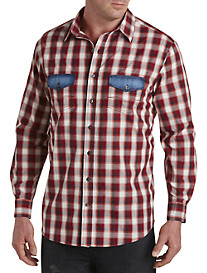 True Nation® Plaid Sport Shirt