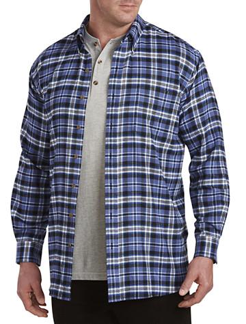 Harbor Bay® Large Plaid Flannel Shirt (multi)