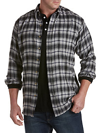 Harbor Bay® Large Plaid Flannel Shirt