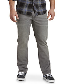True Nation® Grey Athletic-Fit Jeans