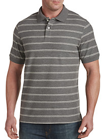 Harbor Bay® Double Stripe Polo