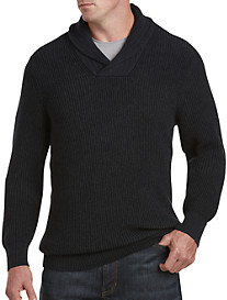 True Nation® Shawl-Collar Sweater