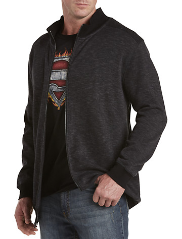 True Nation® Cross-Dyed Full-Zip Knit Cardigan - $65.00
