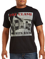 Clash Hits Back Graphic Tee