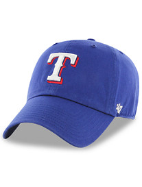 '47 Brand MLB Texas Rangers Clean Up Hat