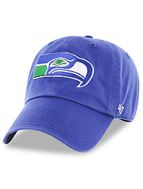 '47 Brand NFL Seattle Seahawks Retro Clean Up Baseball Cap