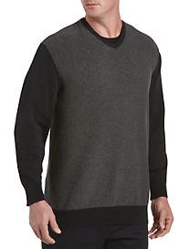 Synrgy™ Patterned V-Neck Pullover