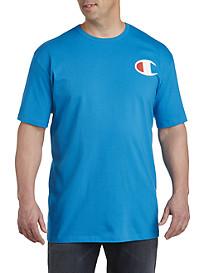 Champion® Large C Chest Logo Tee