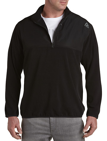Reebok Mixed Media ½-Zip Pullover | Sweatshirts