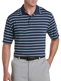 Reebok Heather Stripe Polo